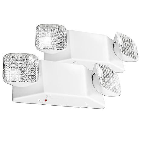 Amazon.com: etoplighting 2pcs x salida de emergencia LED ...