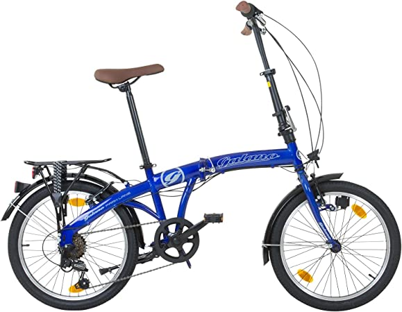 Galano Park Lane Bicicleta plegable, para camping, 20 pulgadas. 6 ...