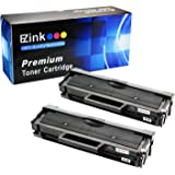 E-Z Ink (TM) Compatible Toner Cartridge Replacement for Samsung 111S 111L MLT-D111S MLT-D111L (2 Black Toners) Compatible With Xpress M2020W Xpress 2070FW Printer