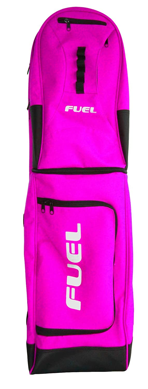 Bidón de combustible Hockey 3en 1Stick y Kit Bolsa, rosa Fuel