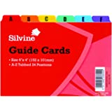 Silvine 6 x 4 inch Guide Cards