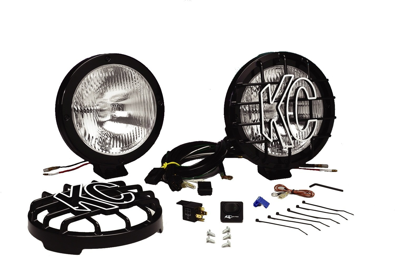 Astonishing Amazon Com Kc Hilites 803 Rally 800 Series Black Coated Stainless Wiring Cloud Hisonuggs Outletorg