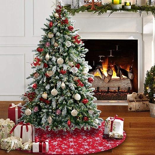 alikena Falda Árbol Navidad, Mini Falda Árbol Navidad Decoración ...