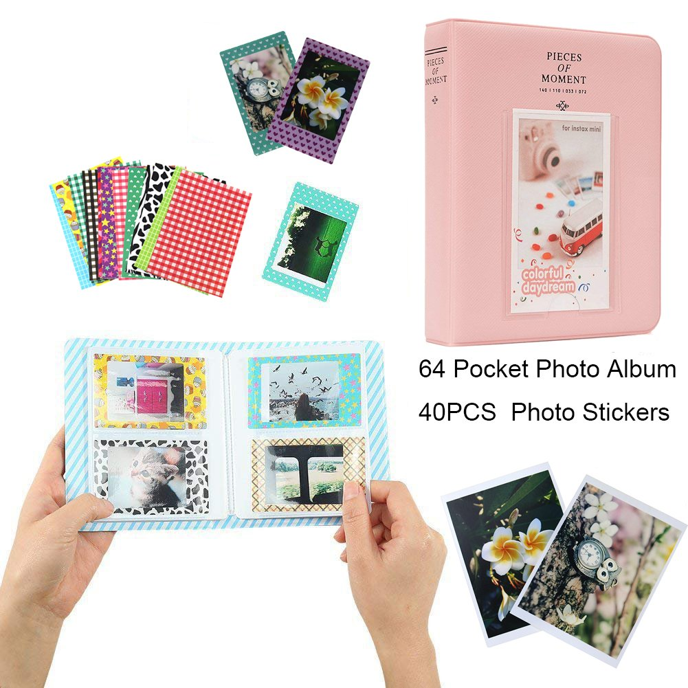 Anter 17 in 1 Instax Mini 9 Accesorios fit to Fujifilm Instax Mini 8 8 9 C/ámaras instant/áneas