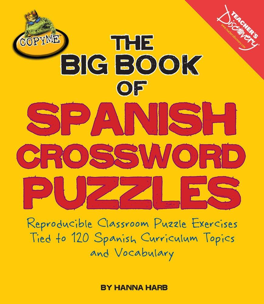 Amazon The Big Book Of Spanish Crossword Puzzles Ring Bound