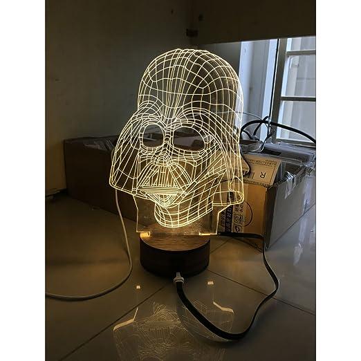 Luffystore Led Kreativ 3D Dreidimensionale Effekt Licht
