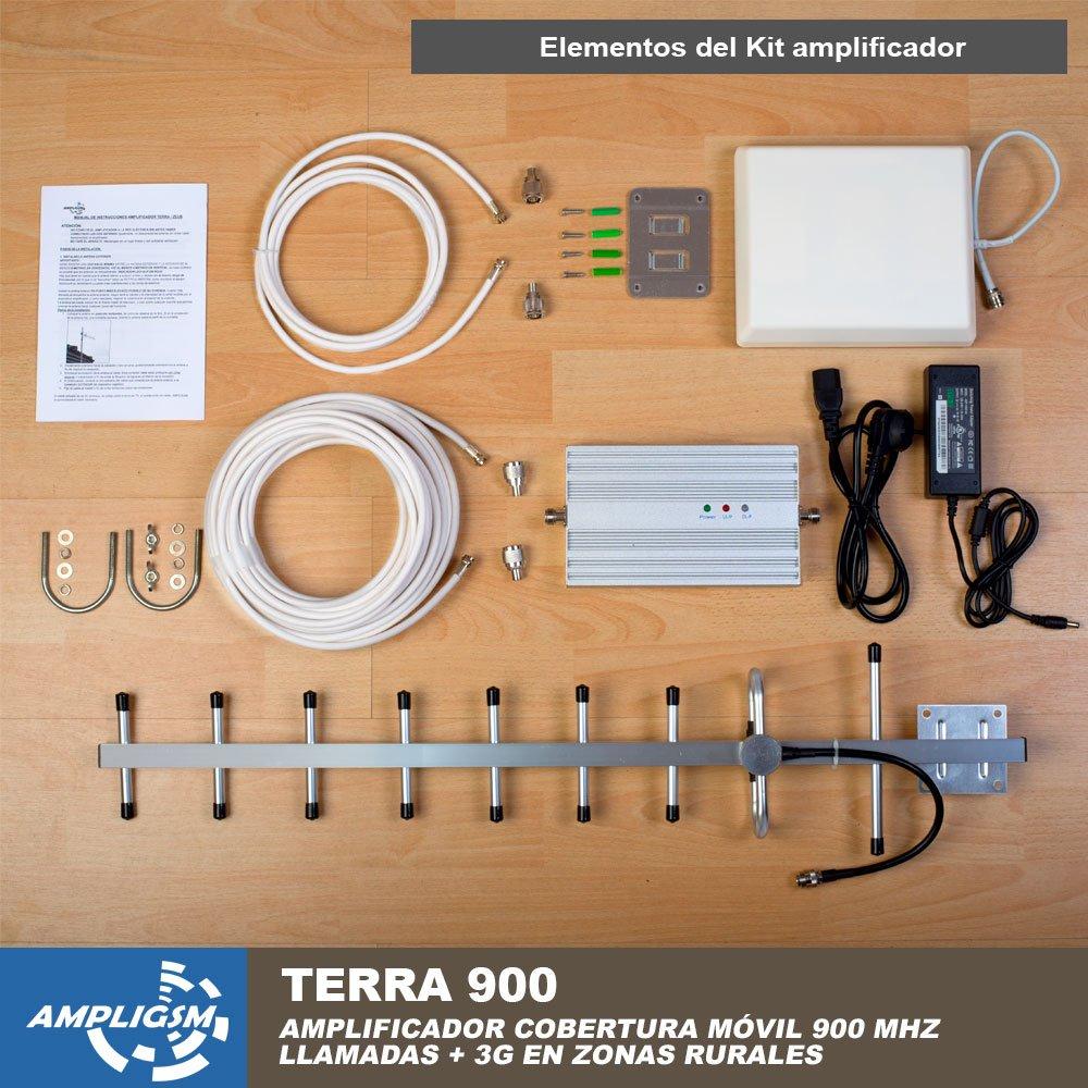 AMPLIFICADOR COBERTURA MÓVIL ZONAS RURALES ALDEA 900 (TERRA 900): Amazon.es: Electrónica
