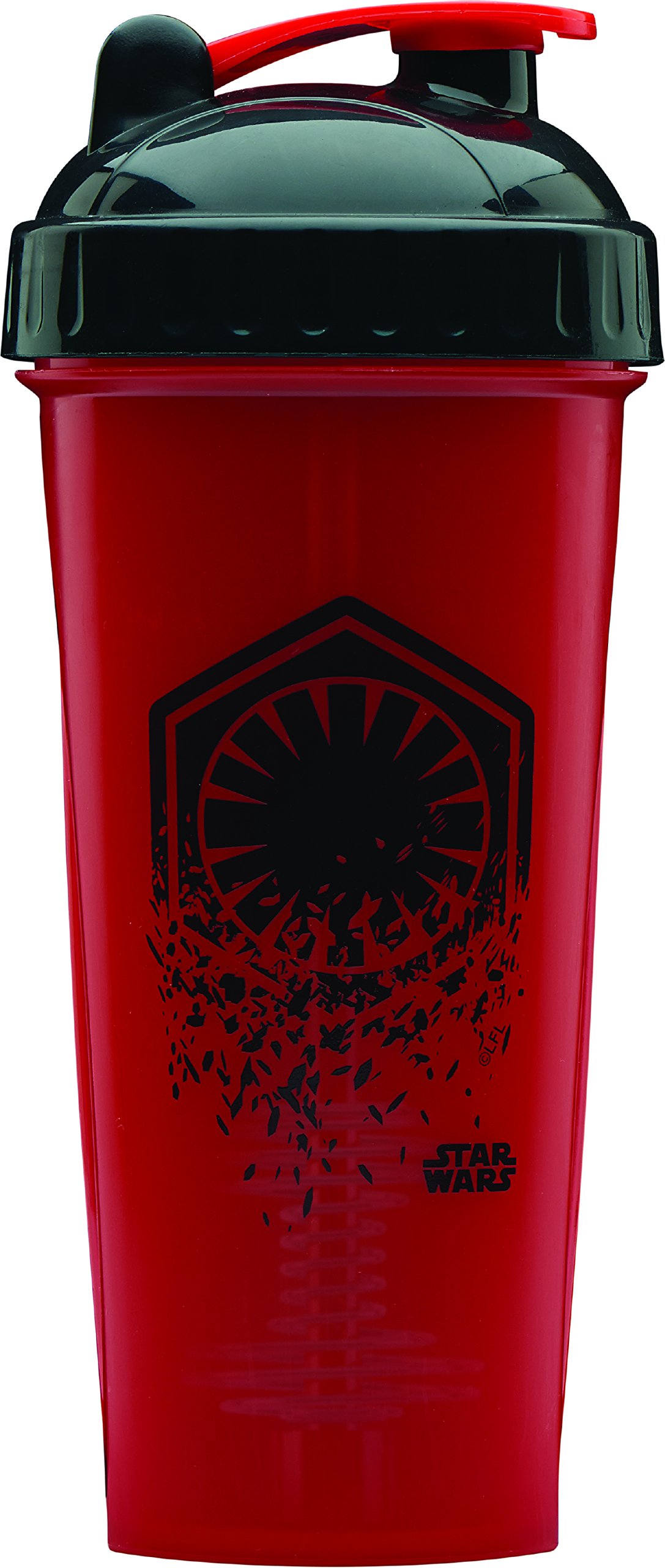 Performa Shaker - Star Wars Original Series Collection, Best Leak Free Bottle with Actionrod Mixing Technology for Your Sports & Fitness Needs! Dishwasher and Shatter Proof (First Order)(28oz)
