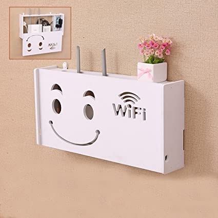 Amazon.com: Cable Box Management Organizer for Hide WiFi Router ...