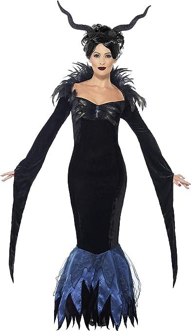Smiffys - Disfraz de señora Cuervo, Color Negro (43724S): Amazon ...