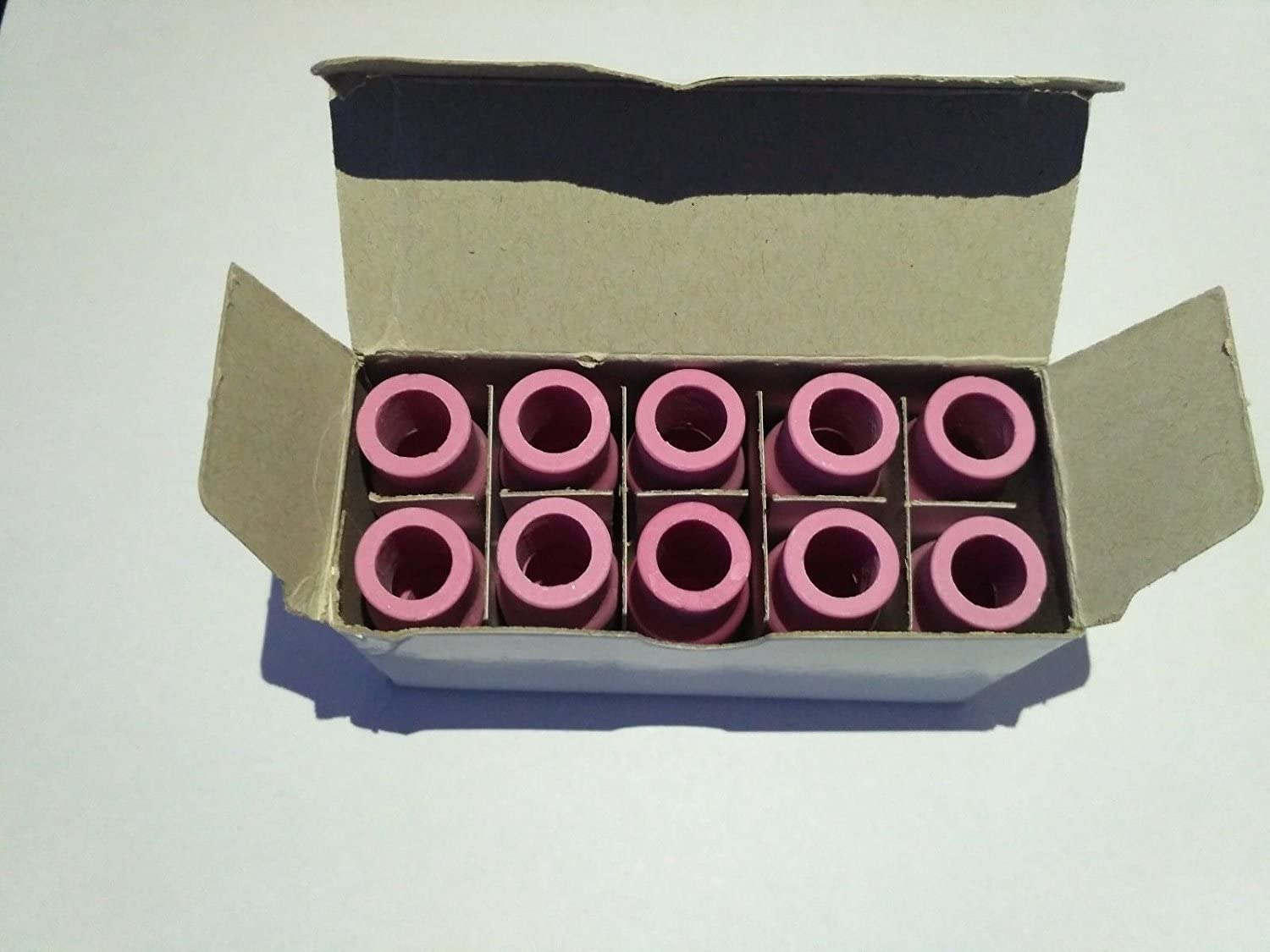 1//16 10 pcs of TIG torch Weld Welding Collet Body 10N31 ETA:7-12 WORK DAYS for Torch 17//18//26 Series