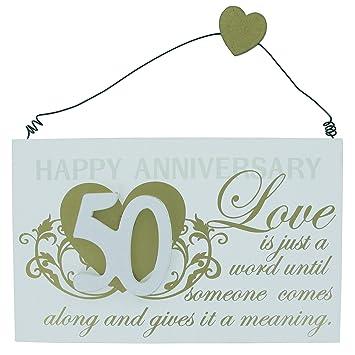 Amazonde Goldene Hochzeit Jahrestag 50 Jahre Geschenk