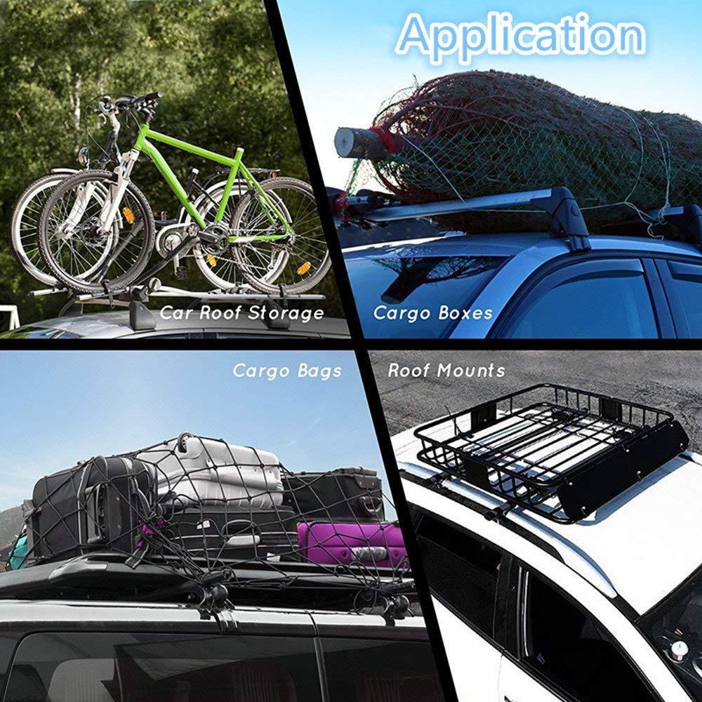 3.94 3.94 Non-Slip Roof Rack Pad Multiuse Anti Slip Mat Fit Vehicles Cars SUVs Holoras Car Roof Protective Mat