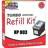 TURBO Ink Cartridge Refill Kit for HP 803 (Black)
