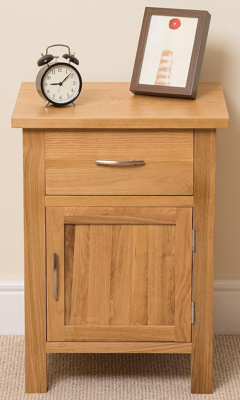 Brand new OAK FURNITURE KING Boston Solid Oak 1 Drawer 1 Door Bedroom  WX11