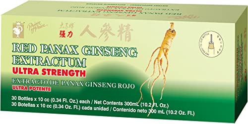 PRINCE OF PEACE RED PANAX GINSENG EXTRACT, 30X10 CC