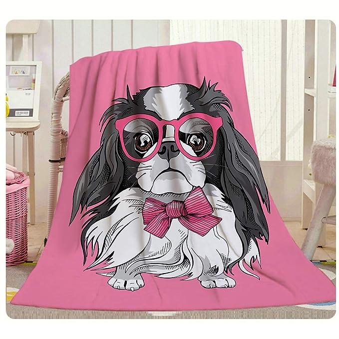 Manta para perro con diseño de barbilla de HGOD, divertida y ...