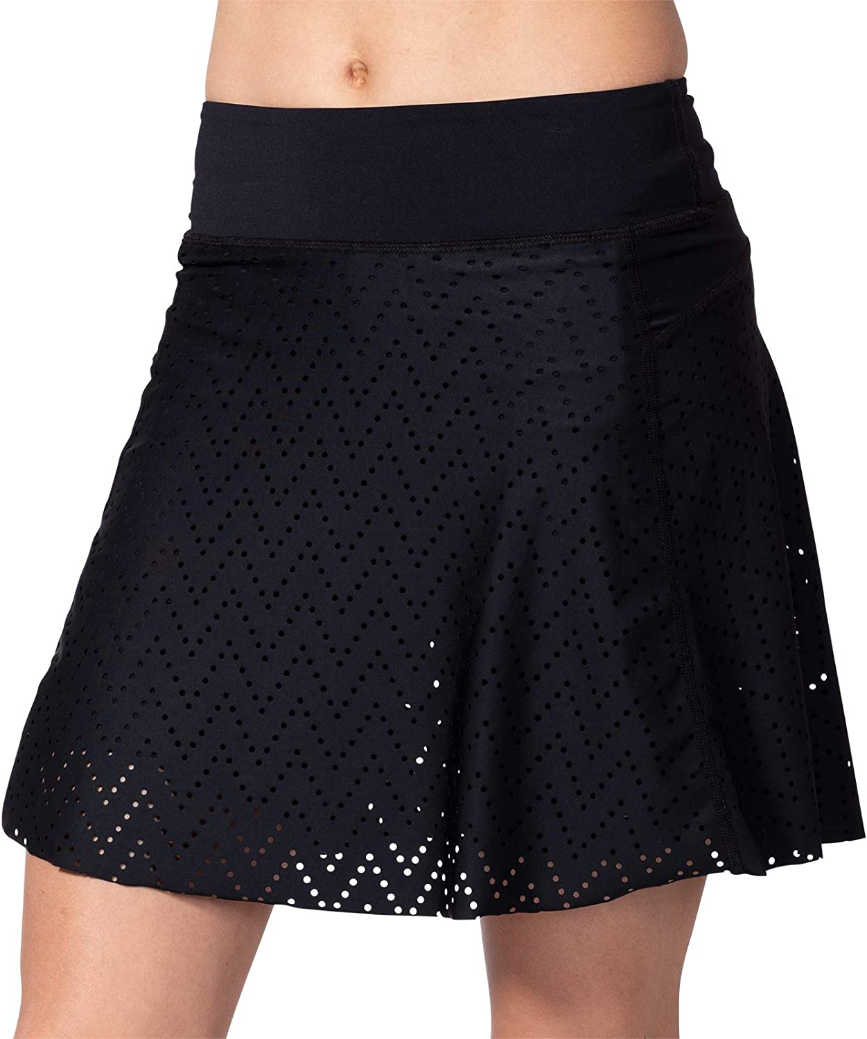 Terry Rebel New Perforated Skort
