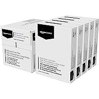 Amazon Basics - Hojas tamaño carta, color blanco, 5 paquetes con 500 hojas c/u