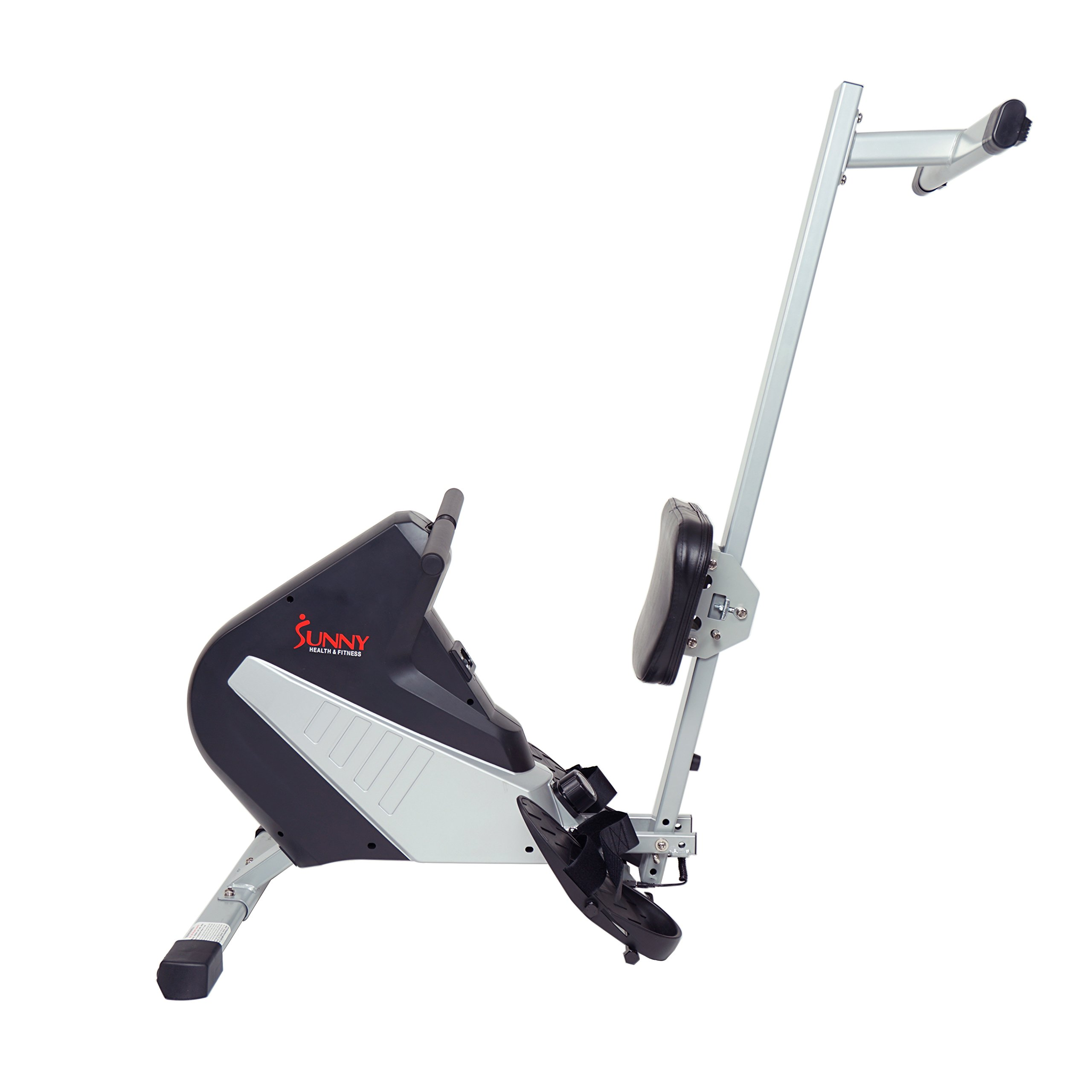 Sunny Health & Fitness SF-RW5634 Magnetic Rowing Machine Rower w/ LCD Monitor by Sunny Health & Fitness (Image #9)