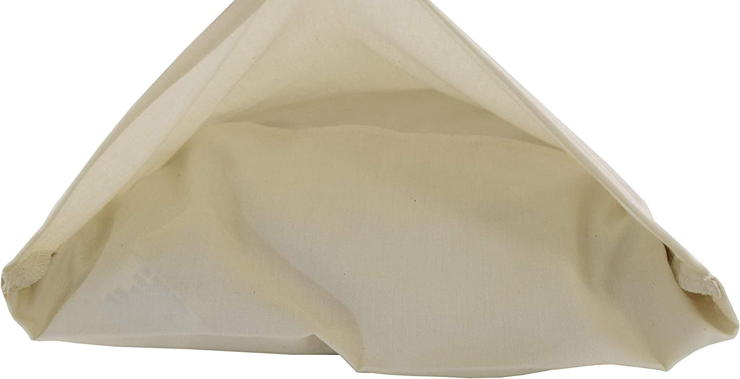 13x18 Natural Sateen 300 Thread Count Travel//Toddler Pillowcase - Enclosed Sleeve Style Made in USA Wheat Dreamz