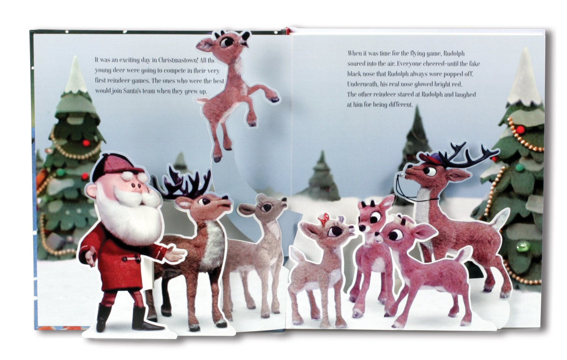 Amazon.com: Rudolph the Red-Nosed Reindeer Pop-Up Book (9781626861978):  Lisa Ann Marsoli, Keith Andrew Finch: Books