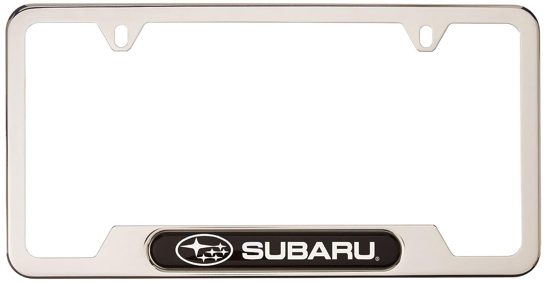 Amazon.com: Genuine Subaru SOA342L127 License Plate Frame (Genuine ...