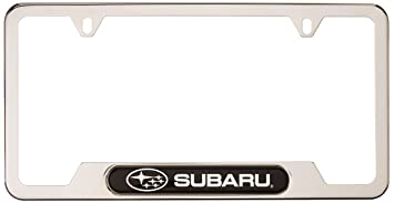 genuine subaru soa342l127 license plate frame