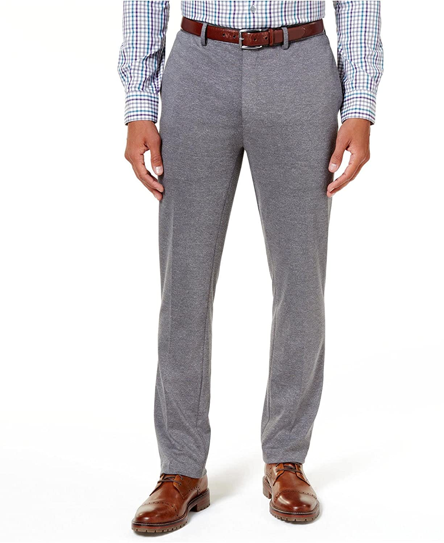 Alfani Mens Marled Knit Pants
