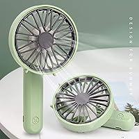 Tycom Foldable Mini Fan with Fit for Mobile, Portable Fan Mini USB Fan, Desktop Table Cooling Fan USB Fan with 3 Speeds…