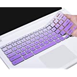 """Keyboard Cover Compatible with Lenovo Chromebook C330 11.6 / Lenovo Flex 11 Chromebook/Lenovo Chromebook N20 N21 N22 N23 100e 300e 500e 11.6""""/ Chromebook N42 N42-20 14 inch Chromebook, Ombre Purple"""