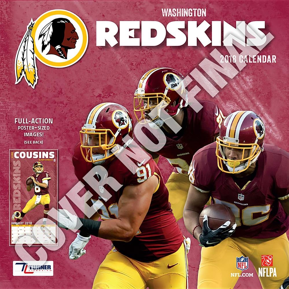 Washington Redskins 2019 Calendar  Lang Holdings Inc.  9781469360324 ... bab4d983b
