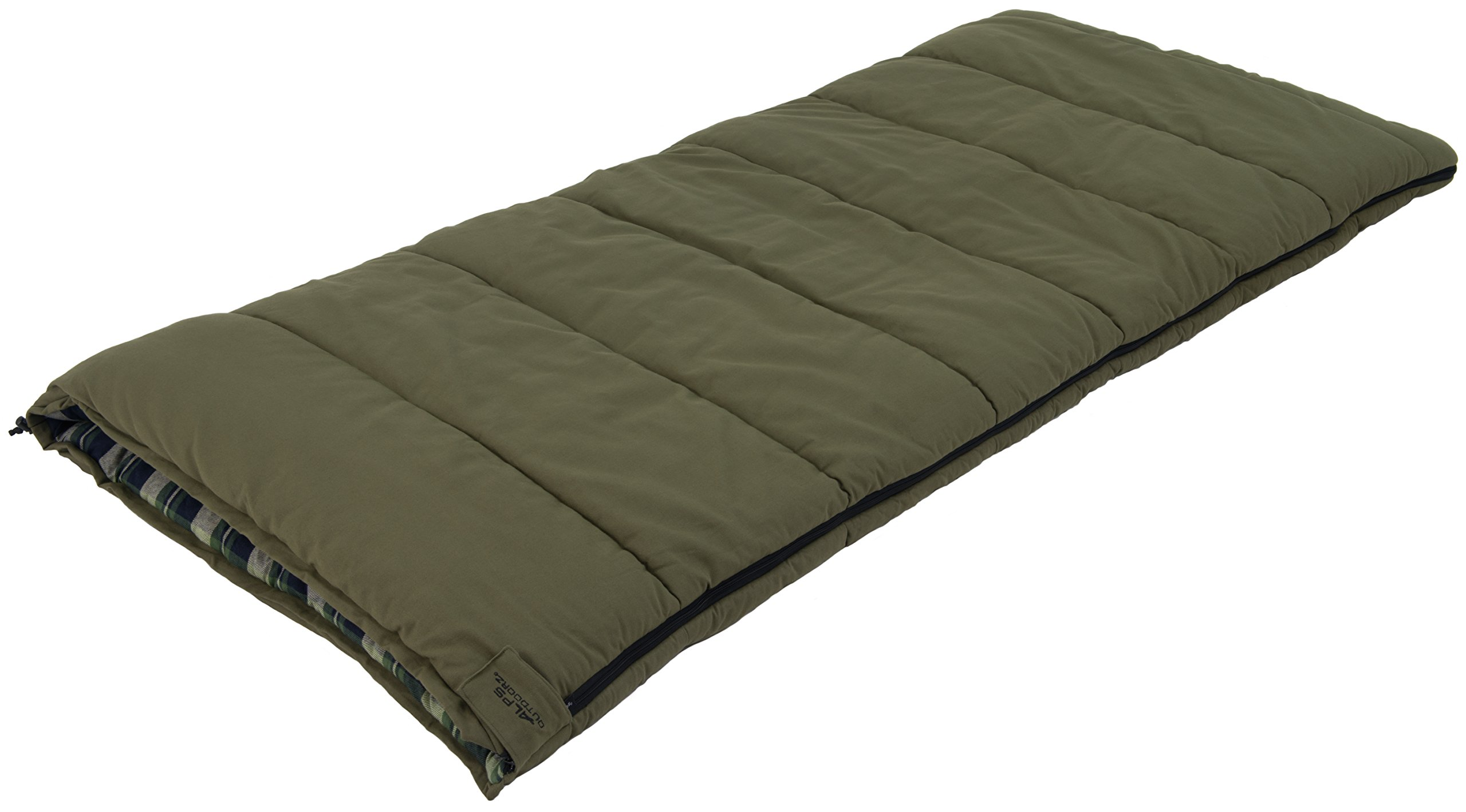 ALPS OutdoorZ Redwood -10 Degree Flannel Sleeping Bag 4