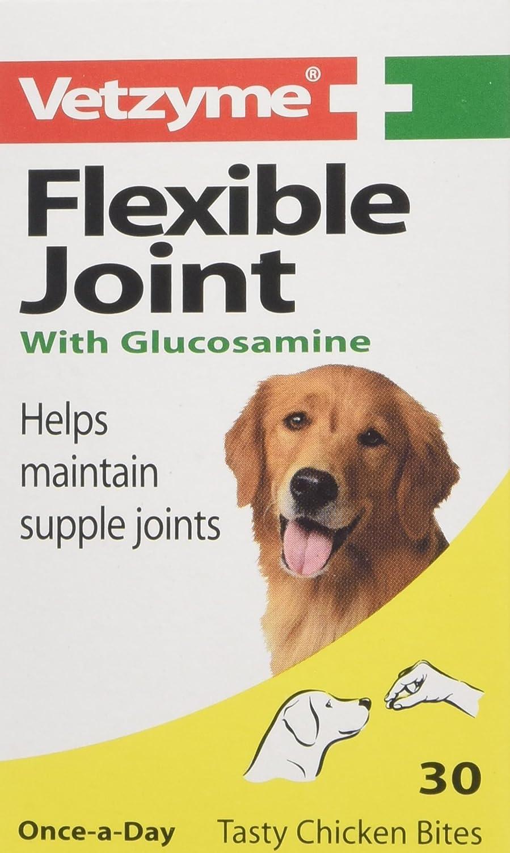 Bob Martin (UK) Ltd Vetzyme Flexible Joint Tablets with Glucosamine, 30 Tablets