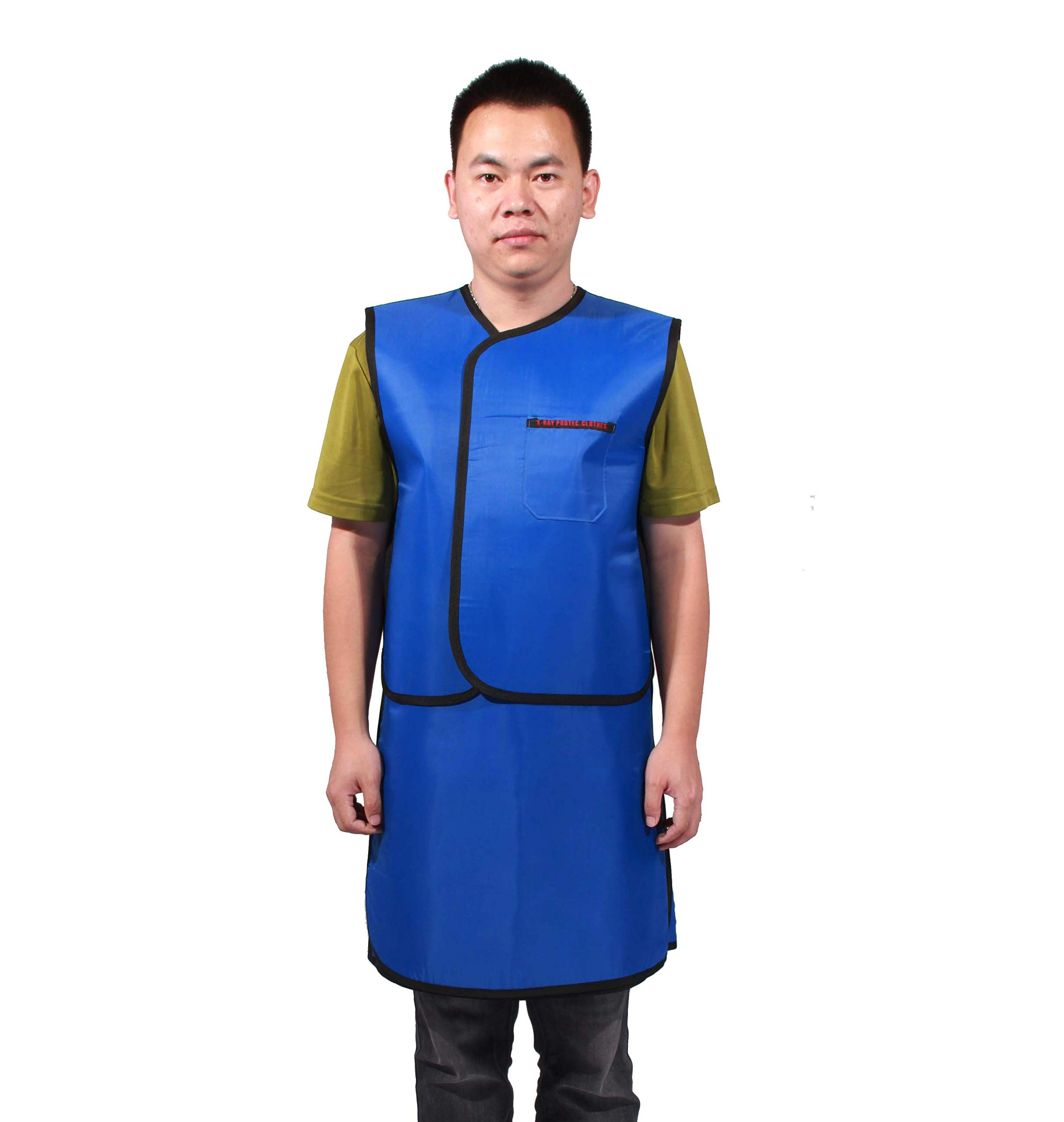 FixtureDisplays X-Ray MRI CT Radiation Protection 33''L 21''W Lead Apron Hook and Loop Closure Vest and Skirt Combo 15450