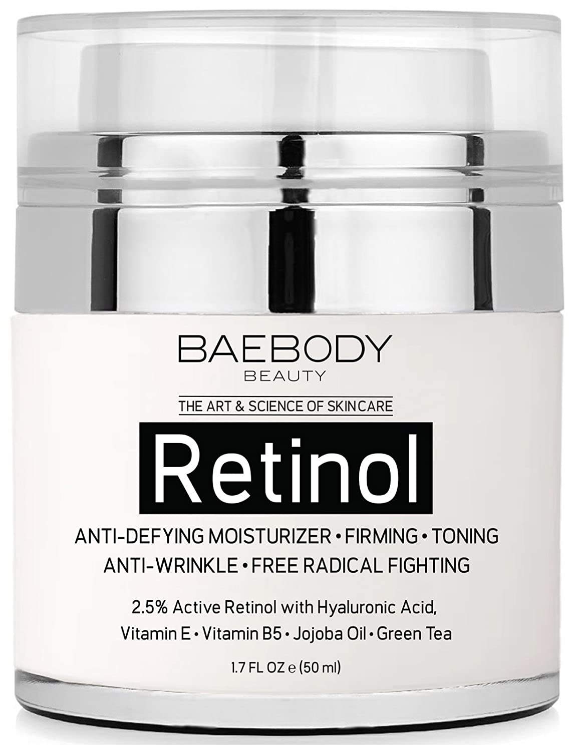 1. Baebody Retinol Moisturizes for Eyes and Face