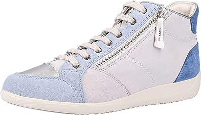Geox D Myria C, Sneakers Hautes Femme: : Chaussures