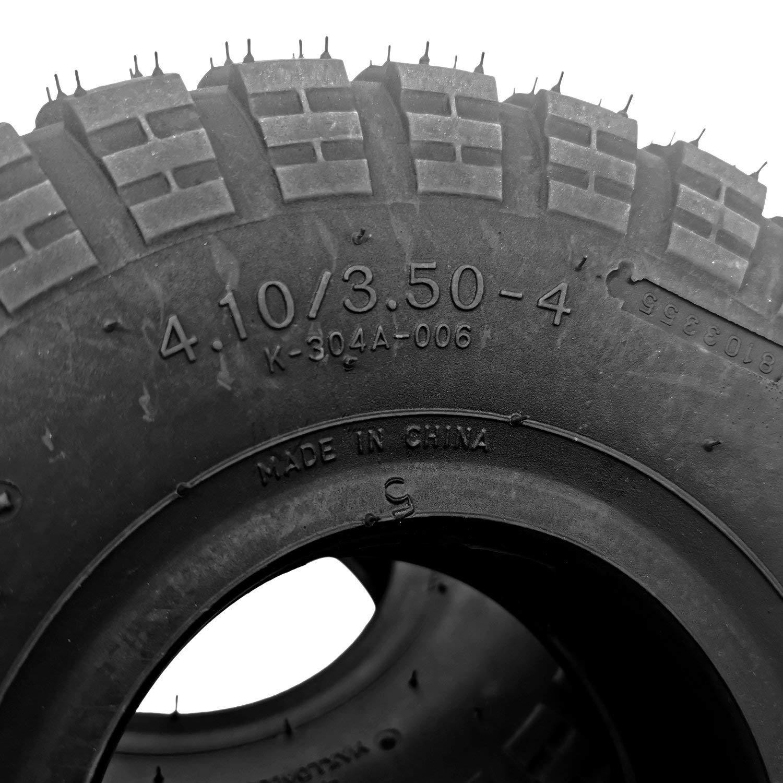 Cavis 4.10//3.50-4 410//350-4 ATV Quad Go Kart 47Cc 49Cun Grosso 4.10-4 Camera dAria Interna Adatta per Tutti I Modelli 3.50-4 Pneumatica Esterna Camera dAria Interna da 4 Pollici