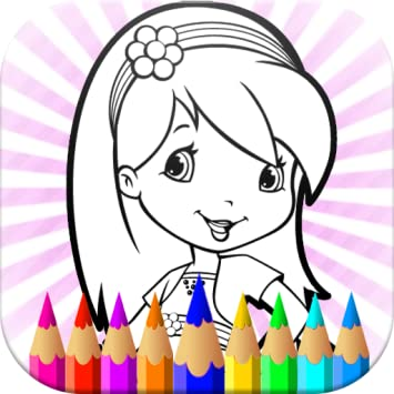 Amazon.com: Strawberry Coloring Pages LOL Cartoons For Kids and ...