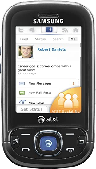 amazon com samsung strive a687 phone black at t cell phones rh amazon com All Samsung Flip Phones Manual Samsung ManualsOnline