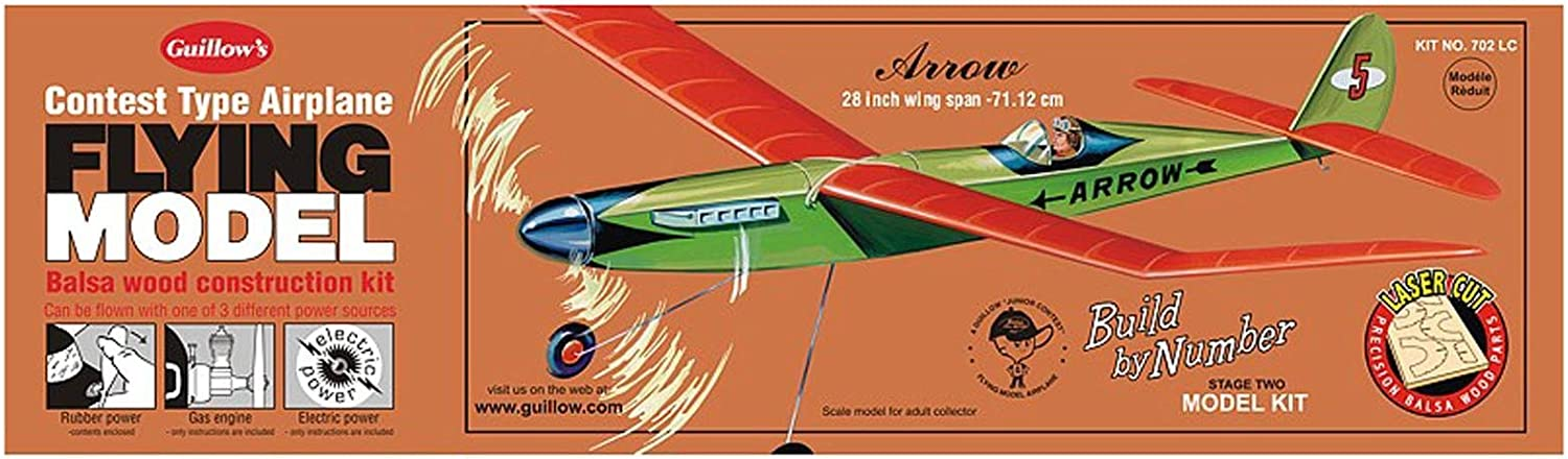 Guillow's Arrow Laser Cut Model Kit