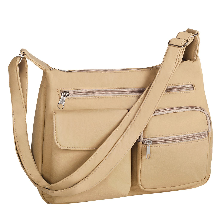 Wash & Wear Handbag, Set of 2, Beige