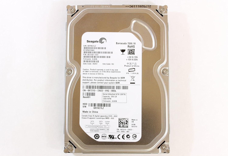 "Dell XT213 ST3250310AS 3.5"" HDD SATA 250GB 7200 Seagate Desktop Hard Drive Precision R5400"