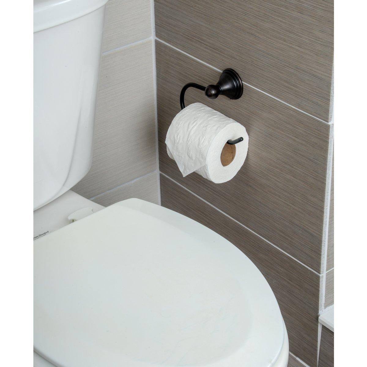 Nickel satin/é Basics Porte-papier toilette Traditionnel standard
