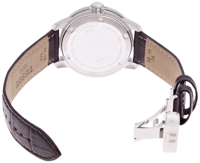 Tissot Men s TIST0554101603700 PRC 200 Analog Display Swiss Quartz Brown Watch