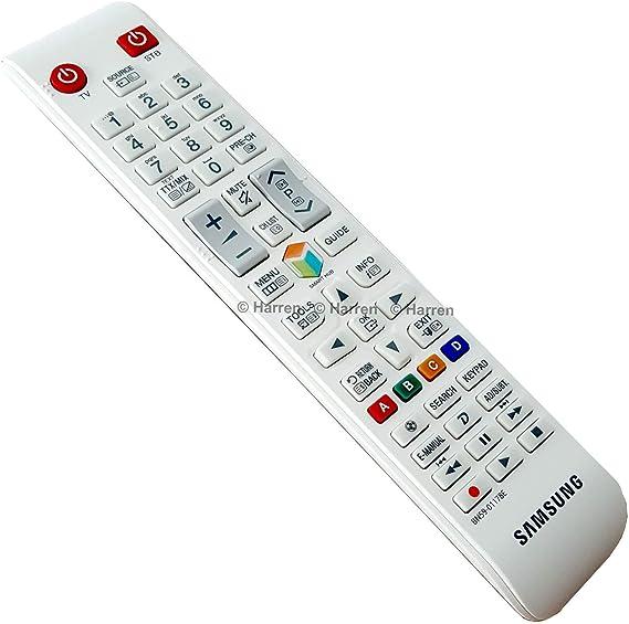 Samsung BN59-01178C - Mando a Distancia de Repuesto para TV, Color ...