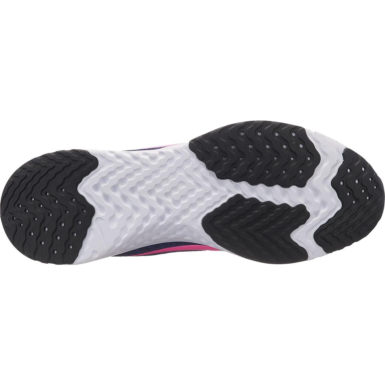 NIKE Women's Odyssey React Running Sneakers B078JRK5PQ 8.5 B(M) US|Deep Royal Blue/Pink Blast-black-white