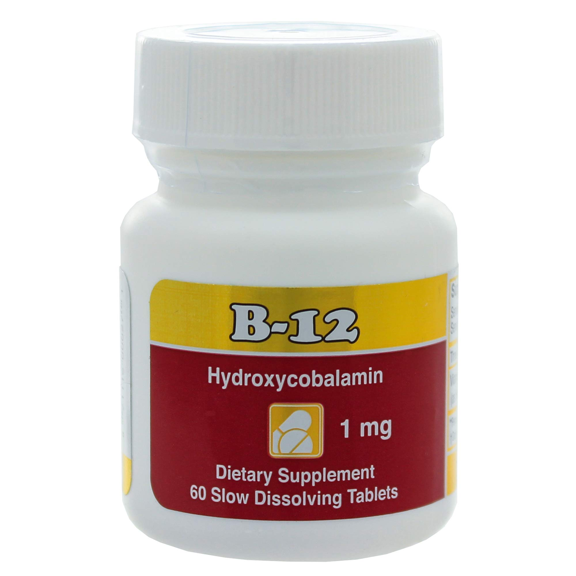 Intensive Nutrition, Inc. - B-12 Hydroxycobalamin 1 mg. - 60 Tablets