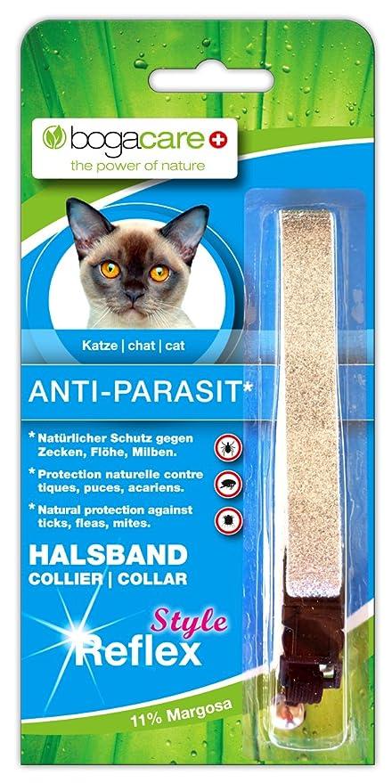 Bogacare de Anti parasit Fieltro Collar Gato Style Reflex