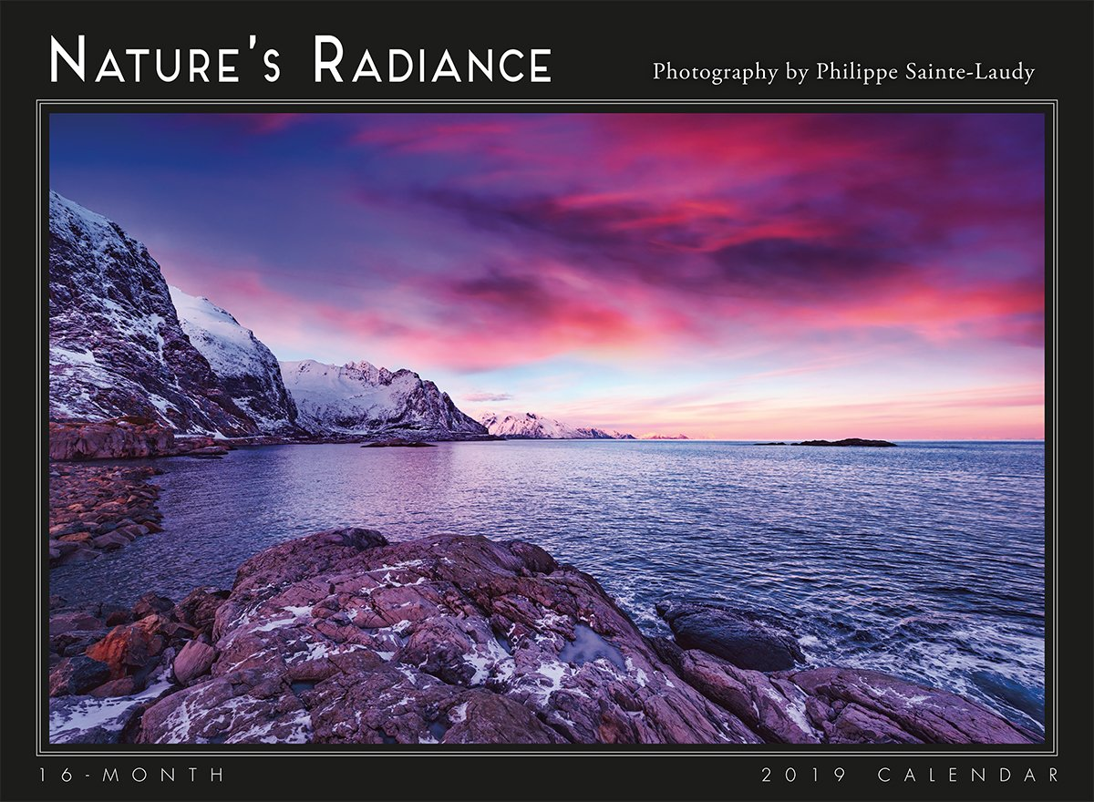 2019 Nature's Radiance 16-Month Wall Calendar: by Sellers Publishing, 11x15 (CA-0443) Calendar – Wall Calendar, Aug 15 2018 Philippe Sainte-Laudy Inc. 1531904432 /